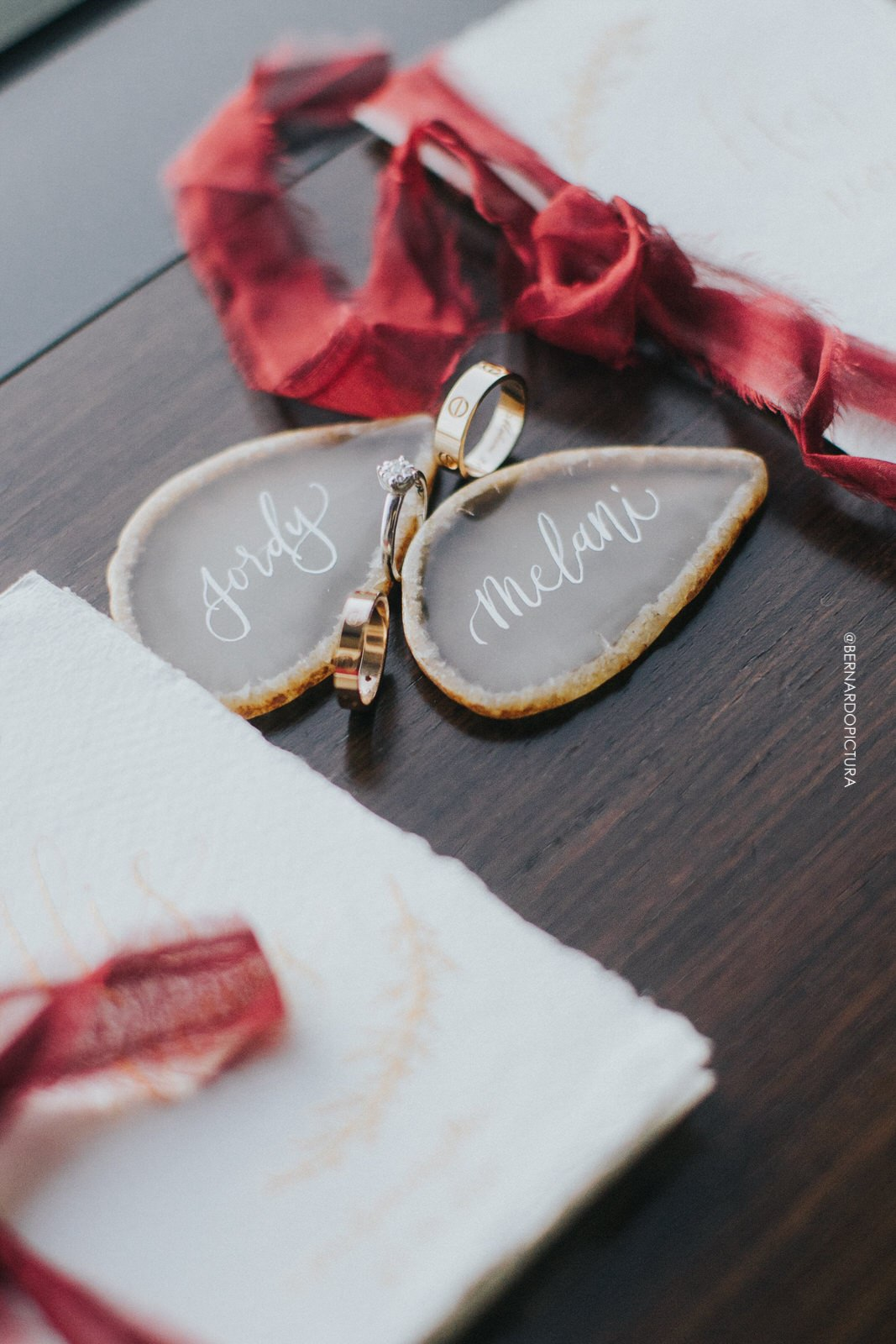 Jordy Melani matrimony